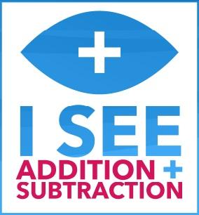 I See + -