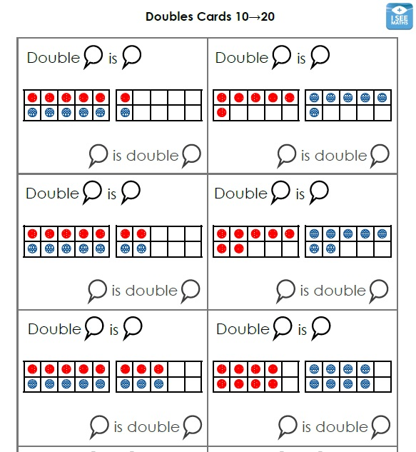 Doubles cards 2