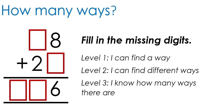 How many ways +